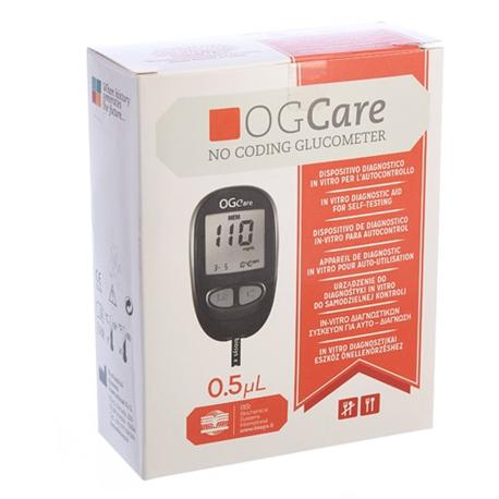 Máy đo đường huyết OGCARE tự động nhận mã que