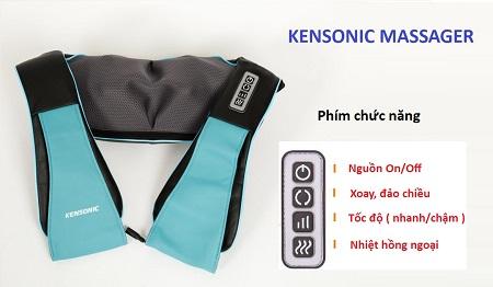 Đai Massage Vai Kensonic 838