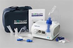 Máy xông mũi họng cao cấp Nebpro thương hiệu Biohealth_Úc, xông mạnh, điều chỉnh được tốc độ phun