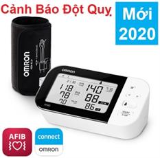 Máy đo huyết áp Omron Nhật Bản HEM-7361T-cảnh báo đột quỵ-tặng kèm adaptor