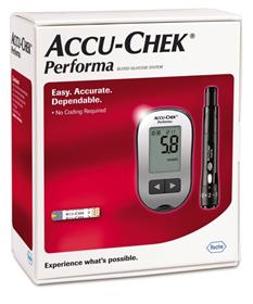 Máy đo đường huyết Accu-Chek Performa tặng kèm que