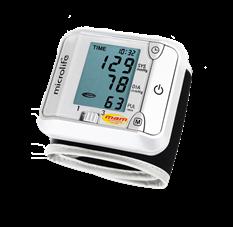 Máy đo huyết áp cổ tay Microlife Thụy Sĩ BP 3BJ1-4D _Bảo hành 5 năm hư đổi mới