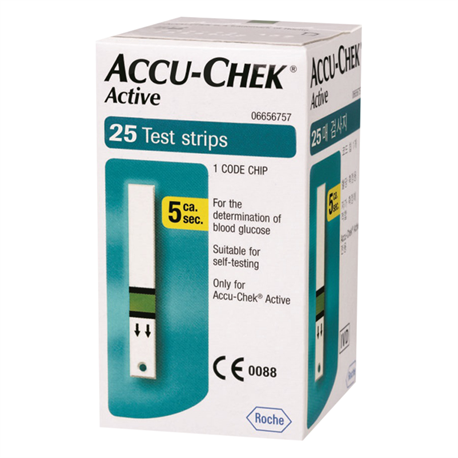 Que Thử Đường Huyết Accu-chek Active 25