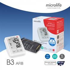 Máy đo huyết áp Microlife B3 AFIB cảnh báo đột quỵ-đời mới-Bảo hành 5 năm hư đổi mới