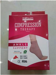 Đai cổ chân Biohealth hỗ trợ khớp gót chân và phòng ngừa suy giãn tĩnh mạch