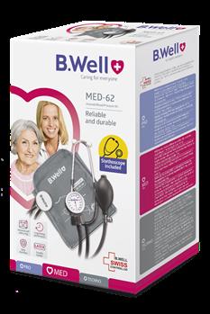Máy đo huyết áp cơ B.Well Swiss MED-62 Nhập Khẩu 100% từ Thụy Sĩ