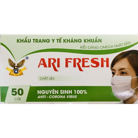 Khẩu trang y tế 4 lớp kháng khuẩn ARI FRESH
