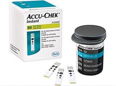 Hộp 50 que thử đường huyết Accu Chek Instant