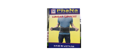 ĐAI LƯNG PHANA CAO CẤP CỐ ĐỊNH VÀ NÂNG ĐỠ CỘT SỐNG- Hàng Việt Nam Chất Lượng Cao