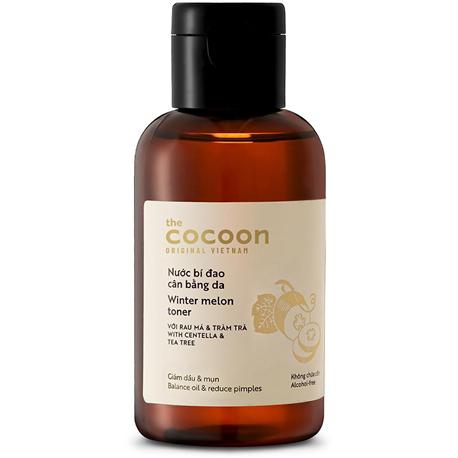 Nước bí đao cân bằng da giảm dầu và mụn ẩn Cocoon