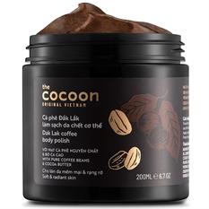 Cà Phê Đăk Lăk tẩy tế bào chết cơ thể Cocoon 200ml