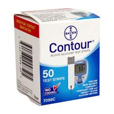 Que CONTOUR-Que thử đường huyết Contour( hộp 50 que)