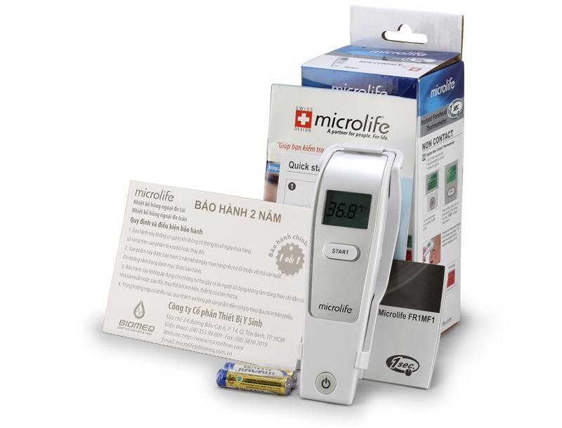 nhiệt kế đo trán fr1mf1