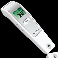 Nhiệt kế điện tử hồng ngoại đo Trán Microlife FR1MF1