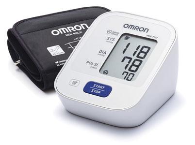 Máy đo huyết áp bắp tay tự động Omron HEM-7121