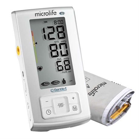 Máy đo huyết áp Microlife BP A6 Basic-cảnh báo đột quỵ tặng kèm adaptor
